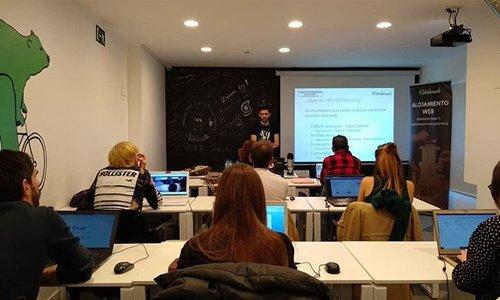 clases del curso de wordpress con profesor