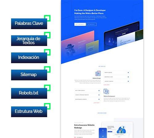 cursos de diseño web y posicionamiento seo