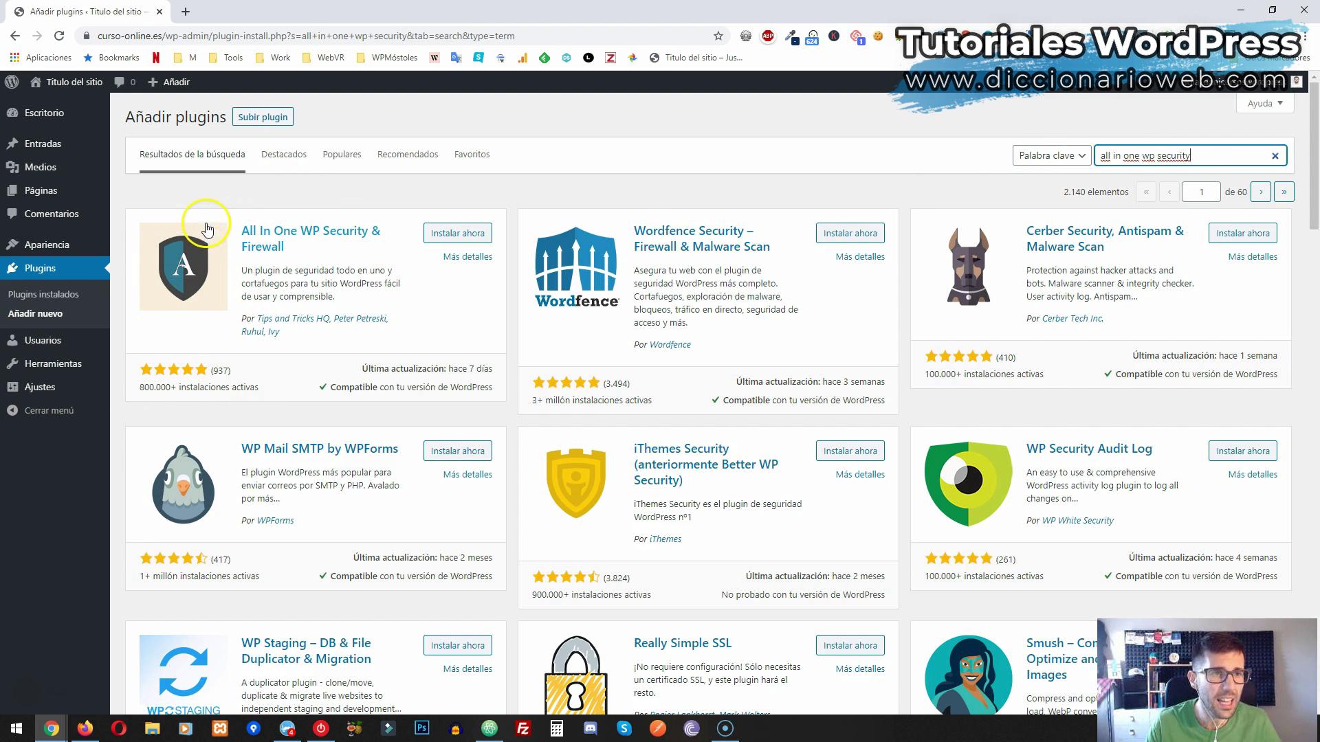 La seguridad de WordPress