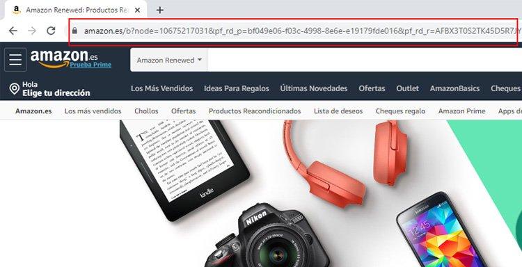 Datos y parámetros en una URL