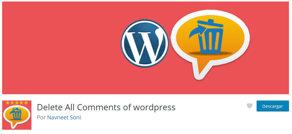 plugin para eliminar comentarios en WordPress