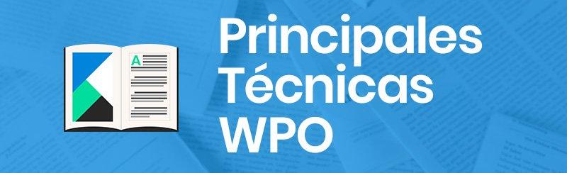 Principales técnicas de WPO