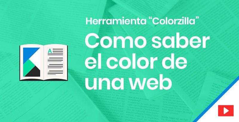 ¿Cómo saber los colores de una página web?