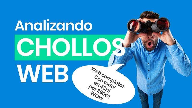 Analizando CHOLLOS 💥💥💥 Tu web en 48h por sólo 390€