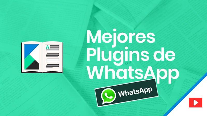 Los mejores plugins de whatsapp