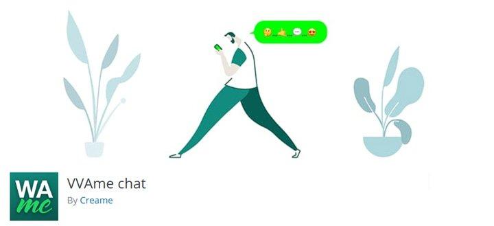 El plugin Chat VVAME (antes WhatsApp Me) de Creame es el plugin más utilizado para poner un chat de Whatsapp